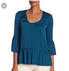 NEW! Trina Turk silk blouse. Size small